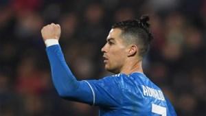 Juventus wint niet zonder moeite bij hekkensluiter: Cristiano Ronaldo scoort in 1.000ste wedstrijd als profvoetballer