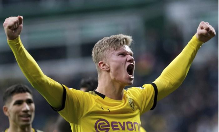Daar is Erling Haaland opnieuw: jong fenomeen scoort tegen Werder Bremen twaalfde doelpunt in acht wedstrijden