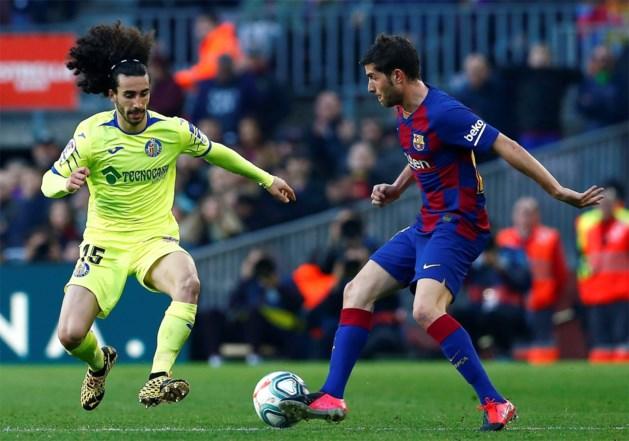 Barcelona is Sergi Roberto enkele weken kwijt
