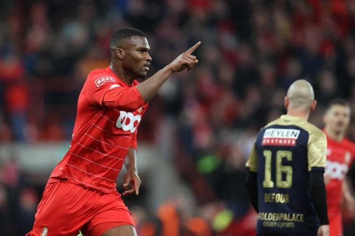Standard heeft genoeg aan knal van Oulare en wordt voorlopig derde, Antwerp blijf achter met 2 op 12