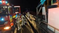 Binnenbrand op vrachtschip in Lanklaar