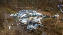 Wietafval blijft twee weken in bos liggen