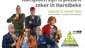 Ex-winnaarsE3 BinckBank Classic verkleden zich als figuren uit FC De Kampioenen