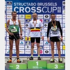 BK veldlopen masters: Stefan Rens werkt hiaat in trofeeënkast weg