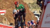 Tweede etappe UAE Tour kolfje naar de hand van Caleb Ewan van Lotto-Soudal, Froome laat het peloton rijden