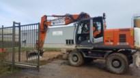 Geen vergunning: werken aan recyclagepark tijdelijk stopgezet