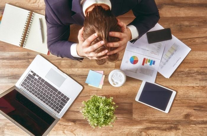 Werkstress neemt ook toe bij zelfstandige ondernemers