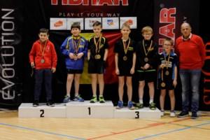 Thomas Vertommen Belgisch kampioen tafeltennis
