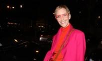 Hannelore Knuts loopt modeshow met zoontje Angelo