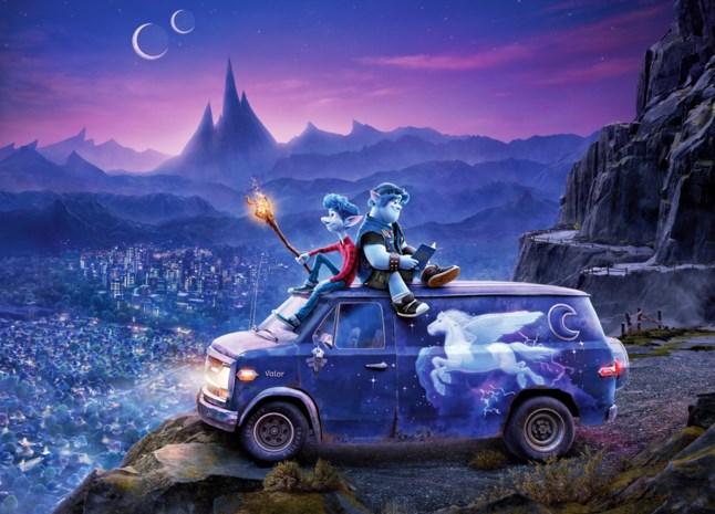 TOP OF FLOP. De nieuwste Pixar is een roadmovie met twee elfen
