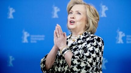 Hillary Clinton stelt eigen documentaire voor op Berlinale en neemt geen blad voor de mond
