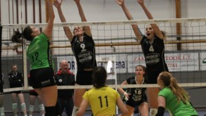 Ladies Volley Limburg pakt gouden punt