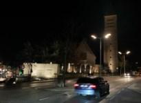 Klok Sint-Martinuskerk in duisternis gehuld