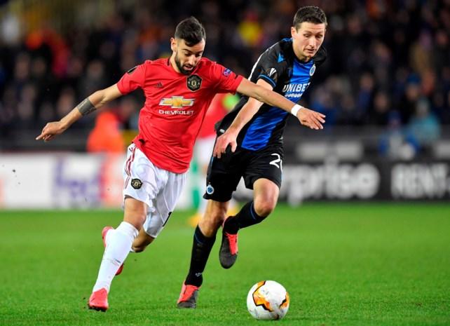 LIVE. Dwingt Club Brugge op Old Trafford kwalificatie voor de 1/8e finales van de Europa League af?