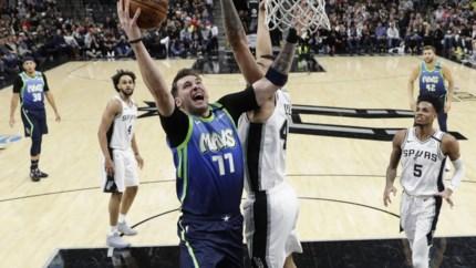 Luka Doncic schrijft stukje geschiedenis voor Dallas Mavericks
