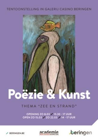 Poëzie en kunst door leerlingen van lagere scholen