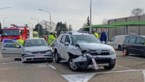 Twee gewonden bij zware klap op Tiensesteenweg