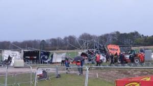 Skybox van Britse MXGP ingestort na passage van storm Jorge