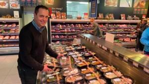 Alvo-supermarkten roepen extra personeel op voor hamsterende klanten
