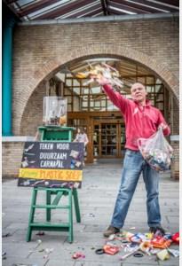 Afvalkunstenaar in beroep tegen GAS-boete