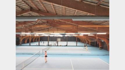 Slimme ledverlichting voor tennishal