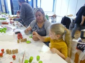 Femma Lummen creatief met kinderen