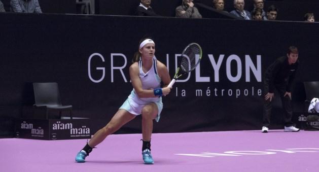 Geen Belgisch onderonsje in tweede ronde WTA-toernooi van Lyon door verlies Greet Minnen