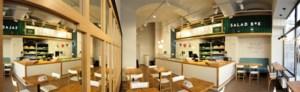 Eerste 'Salad Box' van België komt in Quartier Bleu