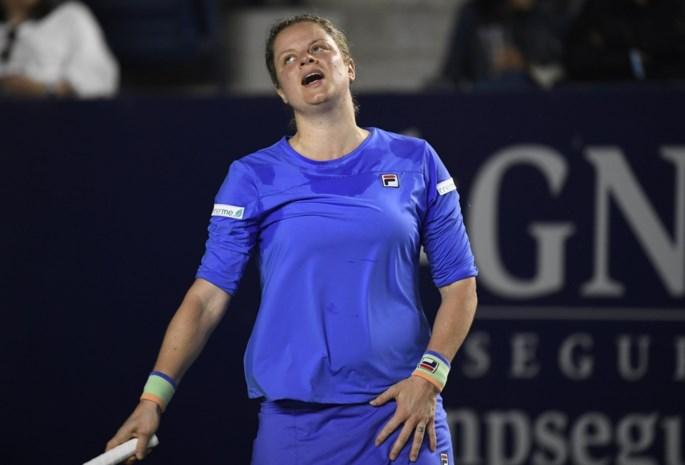 """Gemengde gevoelens bij Kim Clijsters na tweede nederlaag: """"Ik moet tevreden zijn met kleine stapjes"""""""