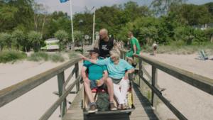 Tom Boonen doet het deze keer met een... bakfiets in 'Tom fietst'