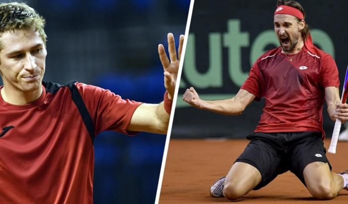 Ruben Bemelmans stunt in Davis Cup: Hongarije-België staat 1-1