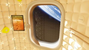 Designer Philippe Starck ontwerpt capsules voor ruimtetoeristen in ISS