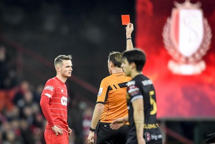 Bondsparket vraagt drie matchen schorsing voor Vanheusden, Standard accepteert straf niet