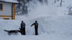 Belgische toerist 160 meter meegesleurd door grote sneeuwbal in Oostenrijk