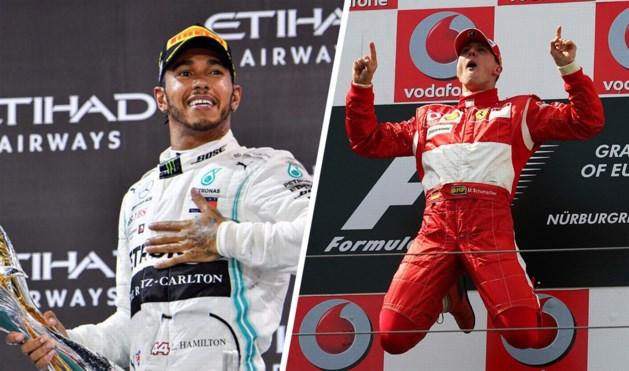 Lewis Hamilton jaagt op vier records van Michael Schumacher in nieuw seizoen Formule 1