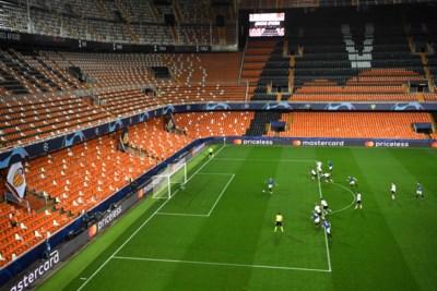 De afwezigen hadden ongelijk: Valencia en Atalanta goed zeven goals in leeg Mestalla
