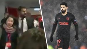 Dit verzin je niet in corona-tijden: Atlético-spits Diego Costa wil geen interviews geven… en hoest dan maar naar journalisten