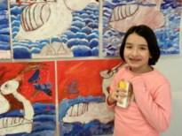 Kinderen van de tekenacademie exposeren in cultuurcentrum