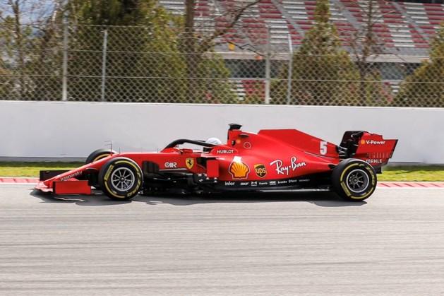 Sebastian Vettel geeft  zijn F1-bolide opnieuw een naam: Lucilla