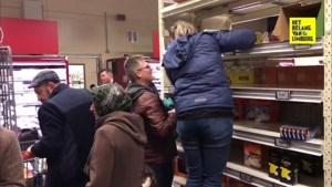 Limburg slaat aan het hamsteren, supermarkten roepen op tot kalmte
