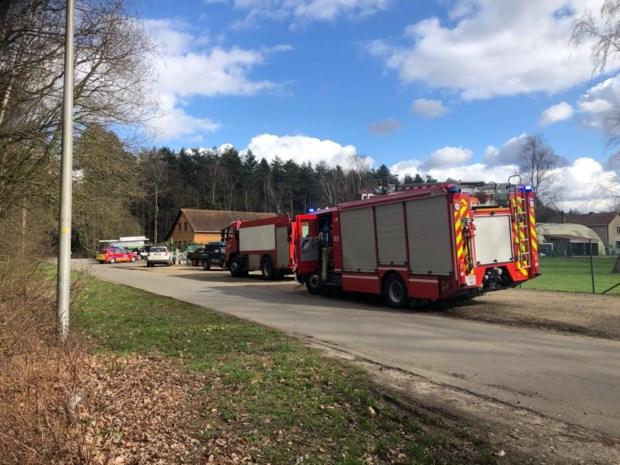 Veel rook door schouwbrand in Koestraat in Beringen