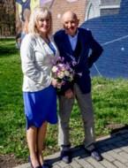 Mia en Andre in Genk
