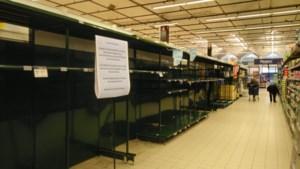 """Carrefour in Kuringen kampt grote tekorten: """"Producten tijdelijk niet beschikbaar"""""""