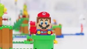 Mario brengt bliepjes naar blokkendoos van LEGO