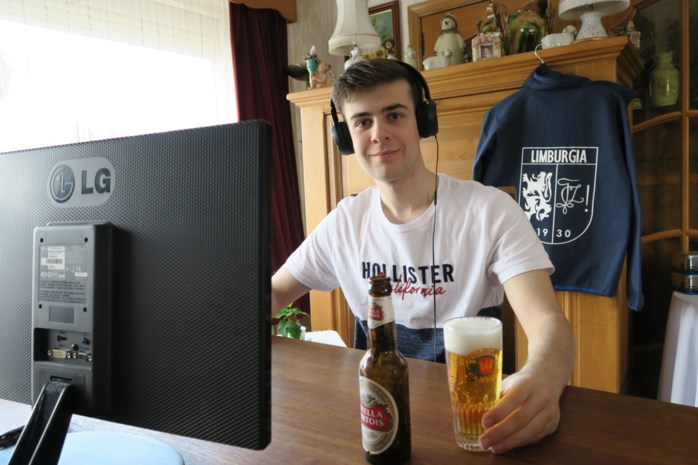 Limburgse studenten gaan virtueel op café in nagebouwde Gentse uitgaansbuurt