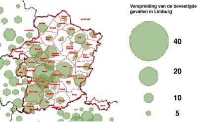 Kaart Toont Verspreiding Coronavirus In Limburg Hasselt Het