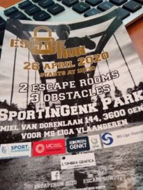 Escape Run 2020 afgelast