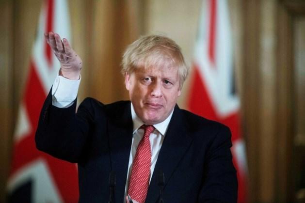 """Boris Johnson : """"Onze gezondheidszorg mogelijk overbelast zoals in Italië"""""""