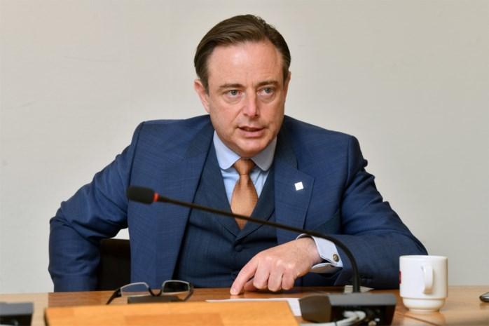 """Bart De Wever: """"Als je nu niet kan overeenkomen, wanneer dan nog wel?"""""""