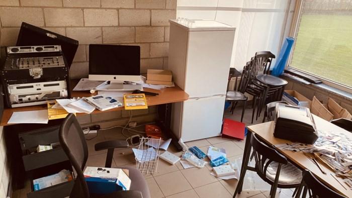 Inbrekers stelen materialen uit secretariaat van KFC Diepenbeek